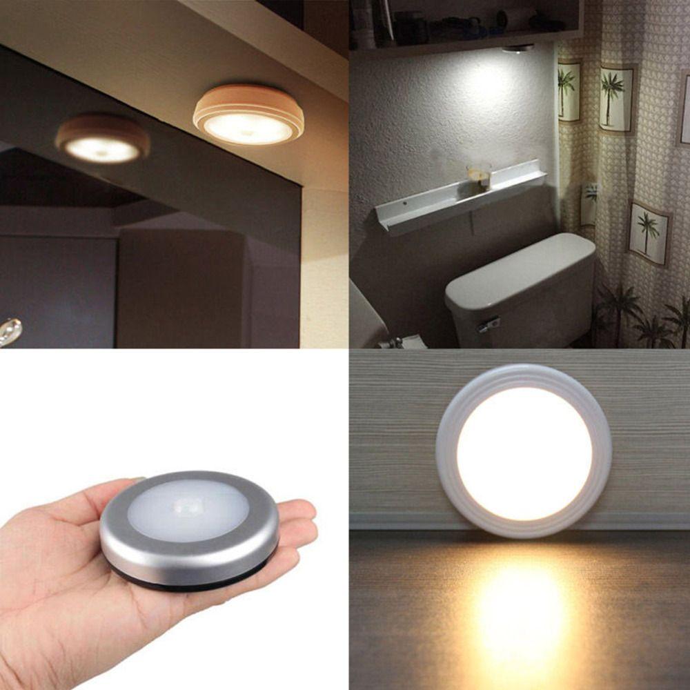 großhandel 6 led wireless pir bewegungssensor licht wandschrank