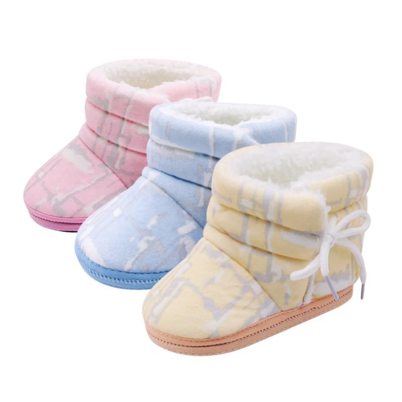 Winter Girls Snow Boots Thicker Warm Plush Boots For Children Kinder Boots Classic Girl Baby Toddler Shoes Good Heat Preservation Girls