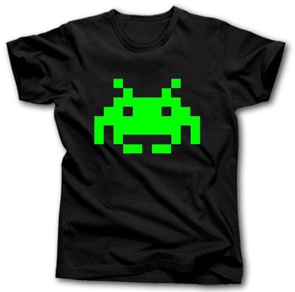 Space Invaders T Shirt S Xxxxxl Arcade Game Retro Atari Commodore Zx