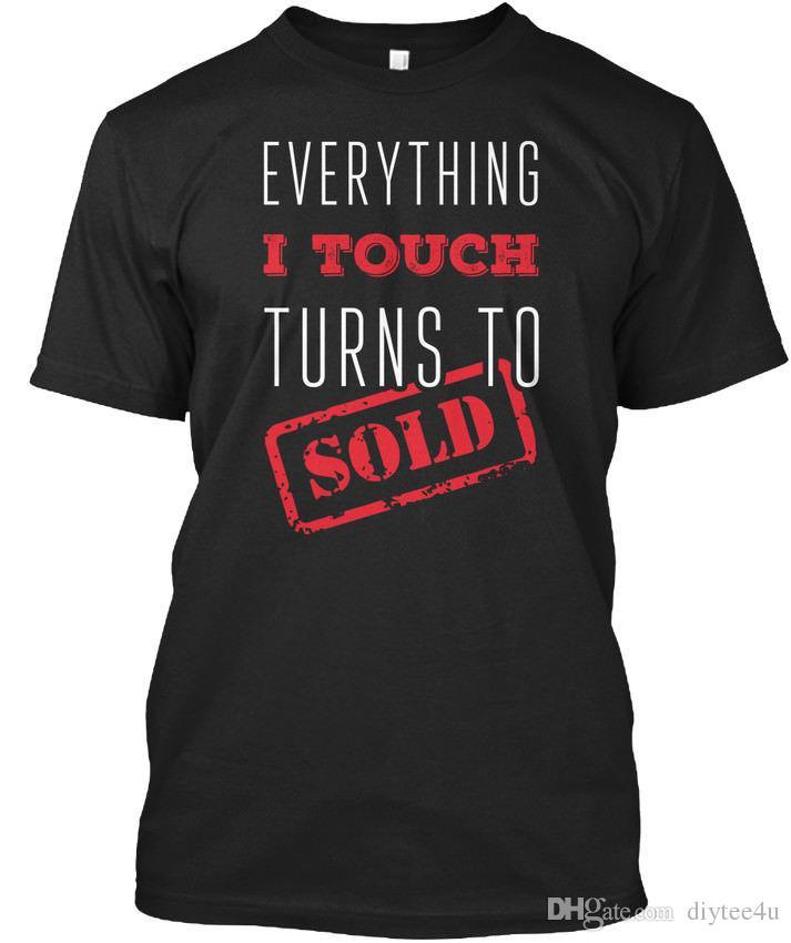 Stylish Real Estate Agent Standard Unisex T-Shirt (S-3XL) Tees Shirt Men  Boyfriend Short Sleeve Thanksgiving Day Custom 3XL Party Tshirts