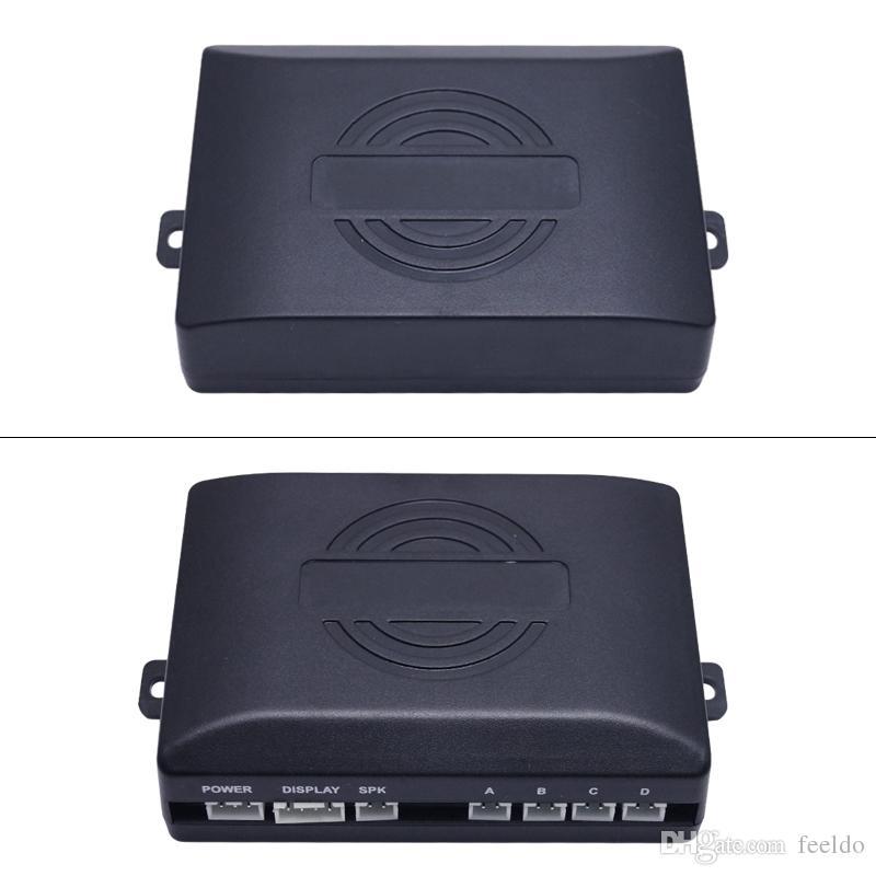 FEELDO Auto-4-Sensor-Rückfahrsensor + Kfz-Kennzeichenrückfahrsystem # 1550