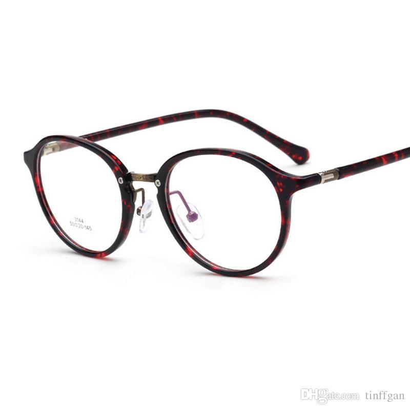 860a3c2465 2018 Fashion High Quality Oval Super Light Eyeglasses Frame Men Women TR90  + Metal Eyewear Frame Eye Glasses Frames For Myopia Glasses Eyeglass Frame  ...