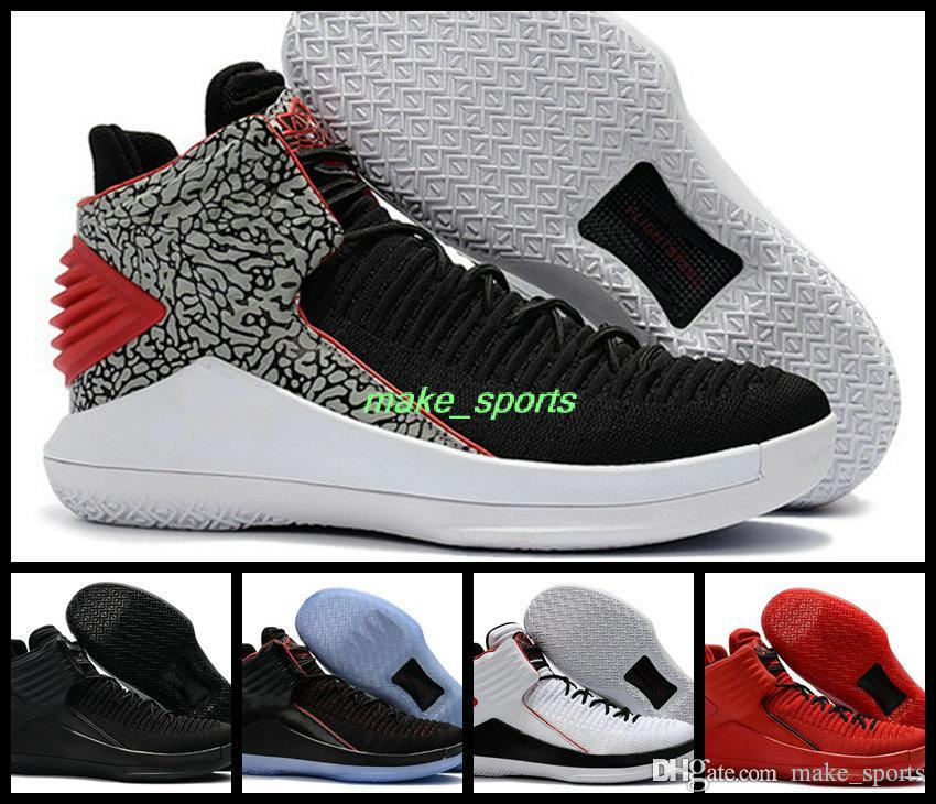 Air Retro 32 Men Basketball Shoes Jumpman Boot Red Black Rosso Corsa Mj Day  Retros 32s Trainers Brand Basket Ball Shoes Sport Sneakers Boost East Bay  Shoes ...