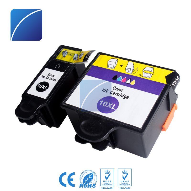 ZH Kodak10XL 1B 1C 2 Packs Ink Cartridges Compatible For Kodak Office 5100 5200 5500 Hero Printer Cartridge Use Online With