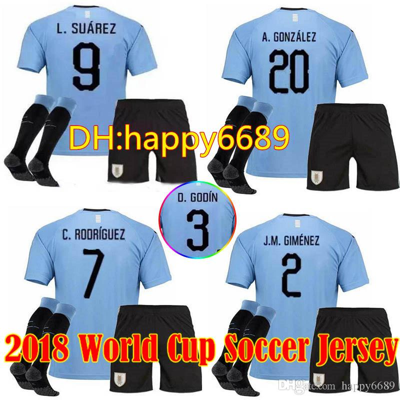 e28500f49 ... mesut Özil germany 2014 world cup away jersey 18 19 uruguay men kit  socks soccer jersey
