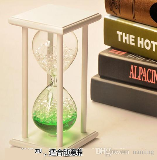 Magic Glass Bubble Hourglass Time Office Accessories Hourglass Room - Decorative-hourglass