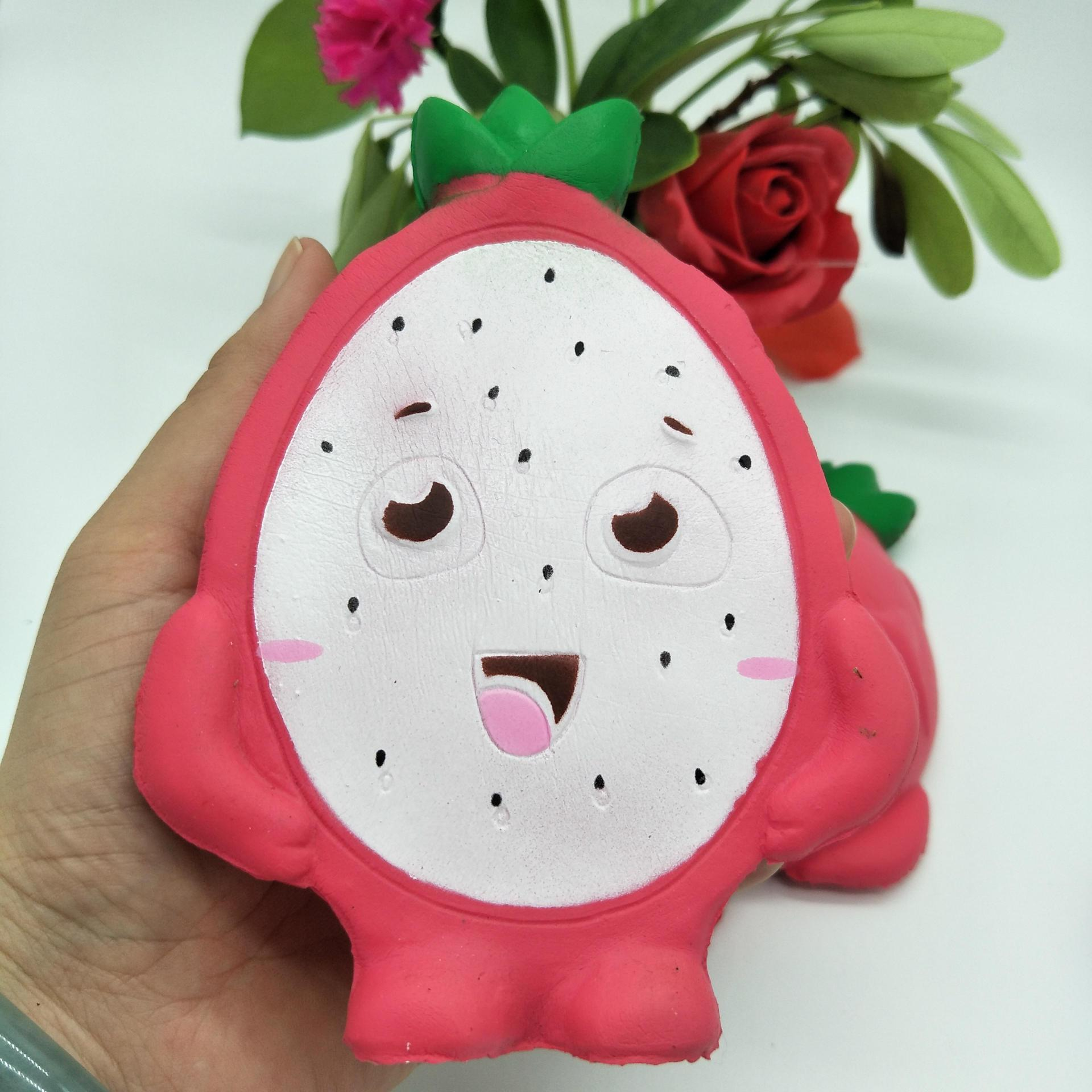 Party Gifts High Quality Simulation Fruits Dragon Fruit Squishy Toys ...