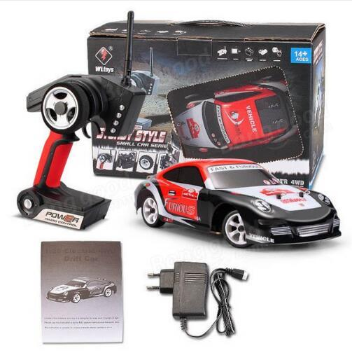 New Arrival Wltoys K969 30Km/H Upgraded Motherboard High Speed 1/28 2.4G 4WD High Quality Brushed RC GIFT
