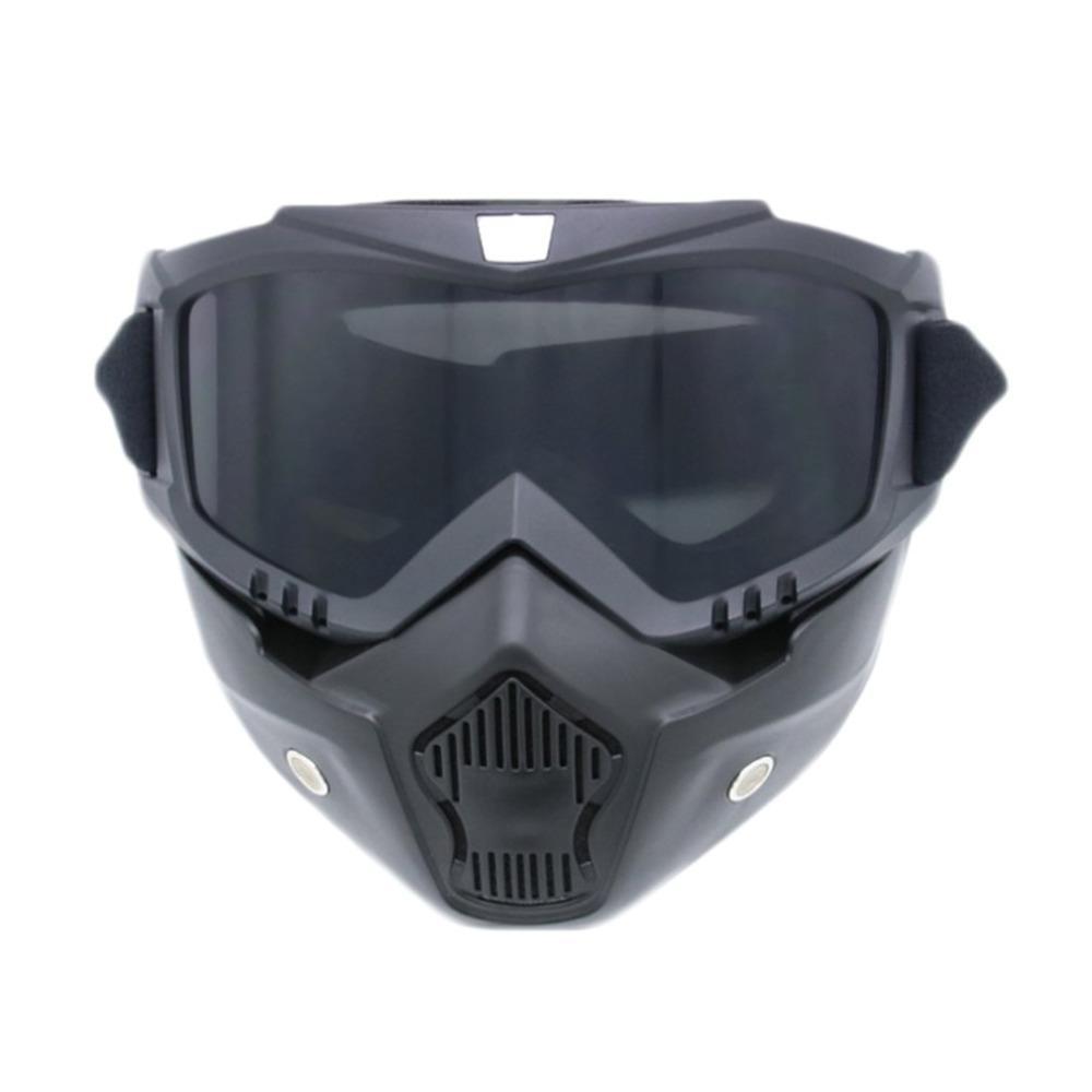 820747be24c12 Compre Homens Mulheres Ski Snowboard Óculos Motocicleta Motocross Óculos De  Corrida Esportes Ao Ar Livre Óculos De Esqui Máscara De Óculos De Sol De ...