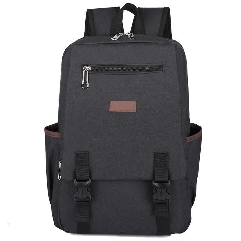 7a970f19b2 Women Canvas Backpacks Men S Business Casual Laptop Bag Large Capacity  Waterproof Travel Backpack Teen Zipper Canvas School Bag Gregory Backpacks  Army ...