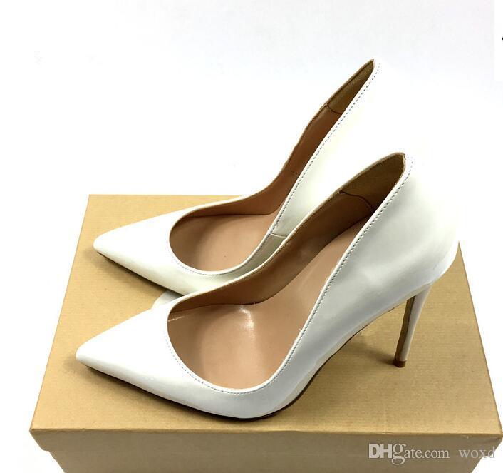 238e79a0 Compre Zapatos Mujer Tacones Altos Bombas Remaches Zapatos Para Mujer  Bombas 12CM Tacones Negros Mujer Sexy Puntiagudo Tacones Altos Zapatos De  Boda B 0047 ...