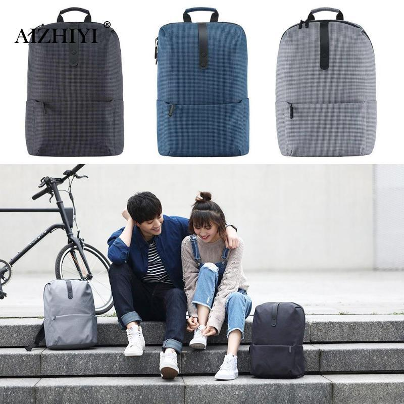 Xiaomi Mi 20l Leisure Backpack Waterproof Travel Rucksack 15 6in