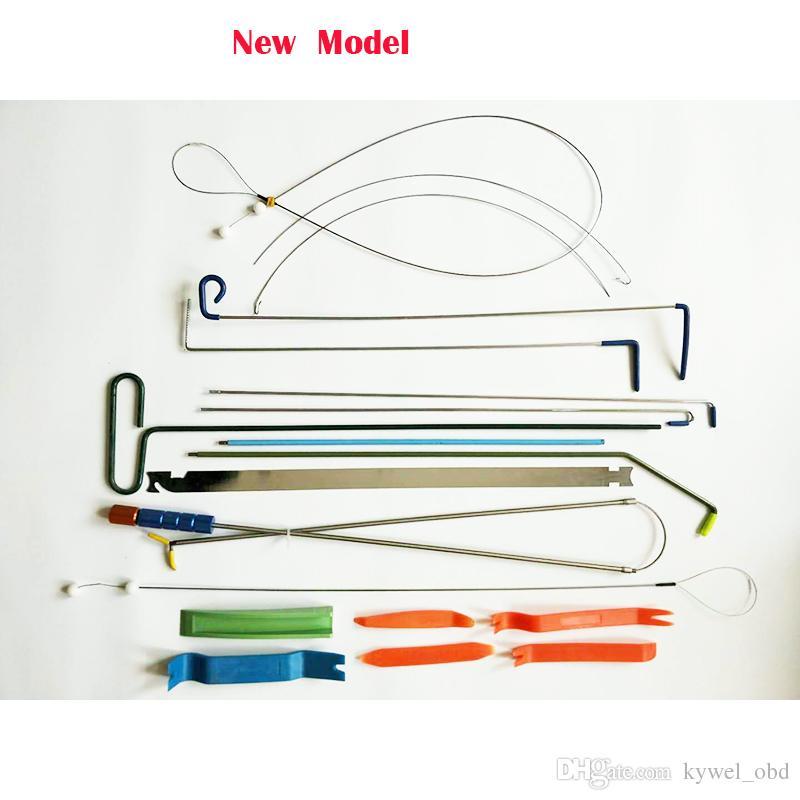 2017 Nuovo Klom Auto Door Quick Open Kit strumento automobilistico fabbro borsa degli attrezzi Car Door Lock Pick Set