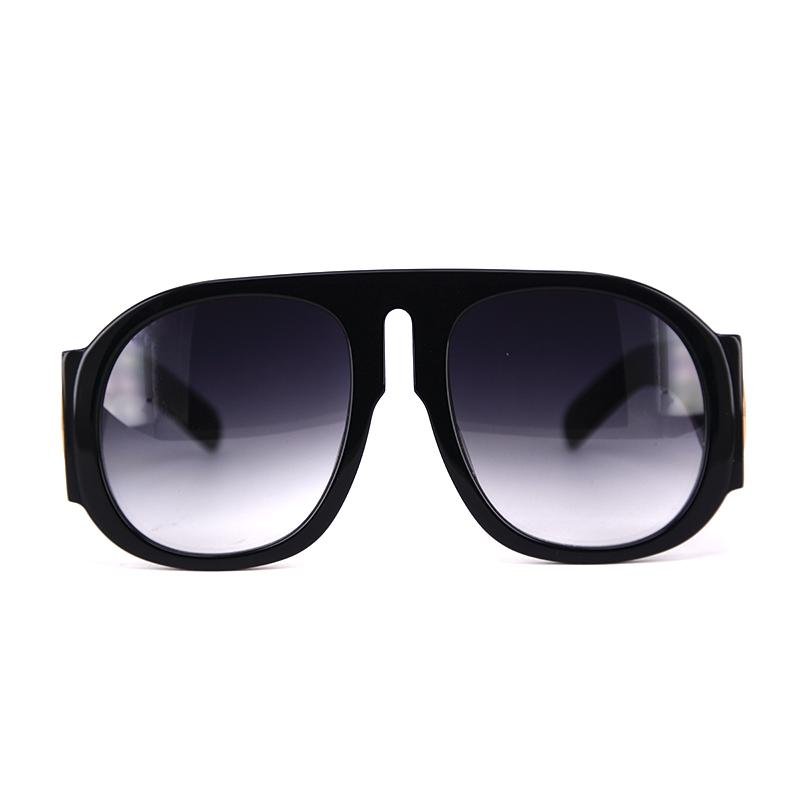 1423118bbba Fashion Beach Acetate Sungalsses With Case Black Oversized Big Optical  Frame Glasses With Extra Big Sun Glasses In Thick Arm Sunglasses For Women  Cat Eye ...