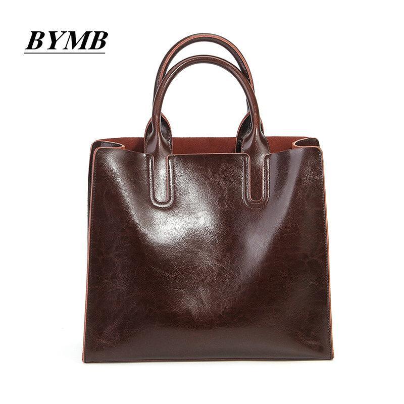 8aece52e91ac 2017 100% Cowhide Bag Women Shoulder Bags Cow Genuine Leather Women Bags  Designer Brand Female Handbags Crossbody Black Bags Crossbody Purse From  Meledy