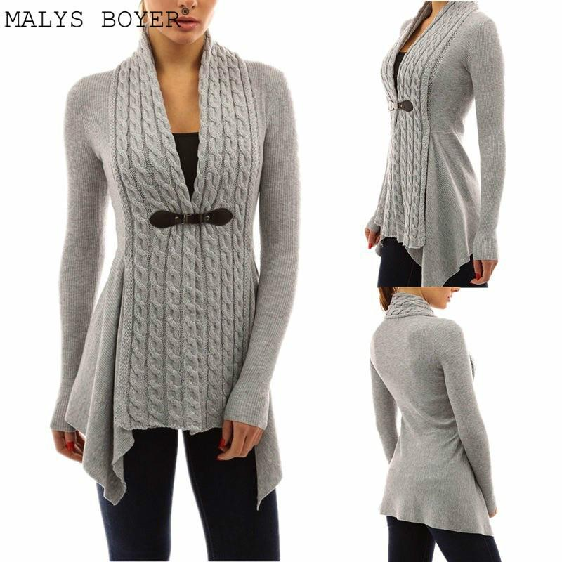 b5ef99255555 2019 Autumn 2018 Cardigan Knitted Sweater Women Jacket Femme Long Jumper  Casual Pull Plus Size 5XL 4XL Oversized Winter Coat Female From Harrietai