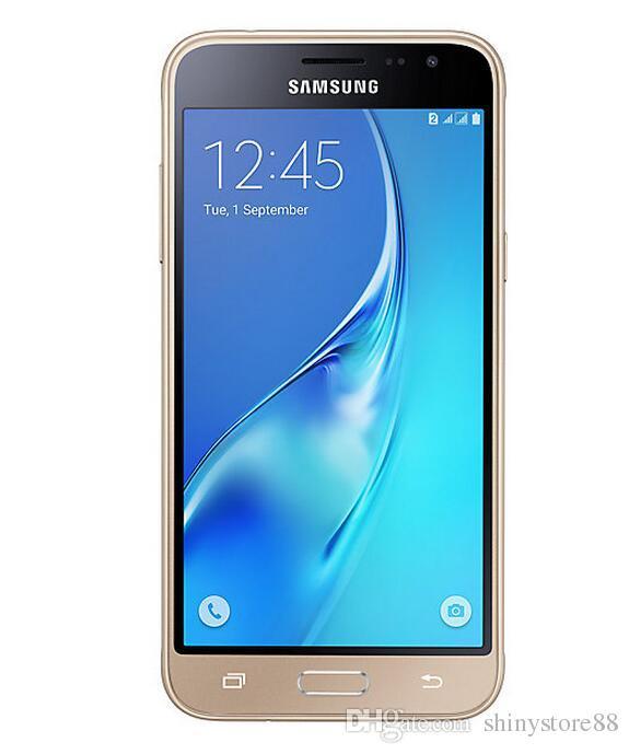 Rinnovato Samsung originale J3 2016 J320F sbloccato il telefono cellulare quad-core 1.5G / 8G 5 pollici singolo sim 4G LTE
