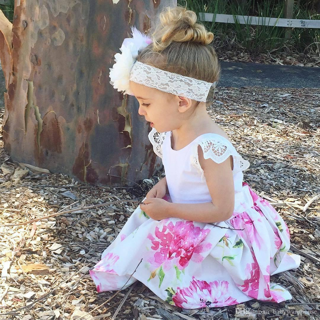 2018 Fashion 2018 Kids Girls Clothing Summer Baby Girl Clothes Lace