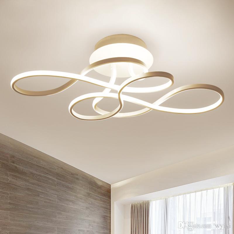 Großhandel LED Deckenleuchte Moderne Lampe Deckenleuchten Für ...