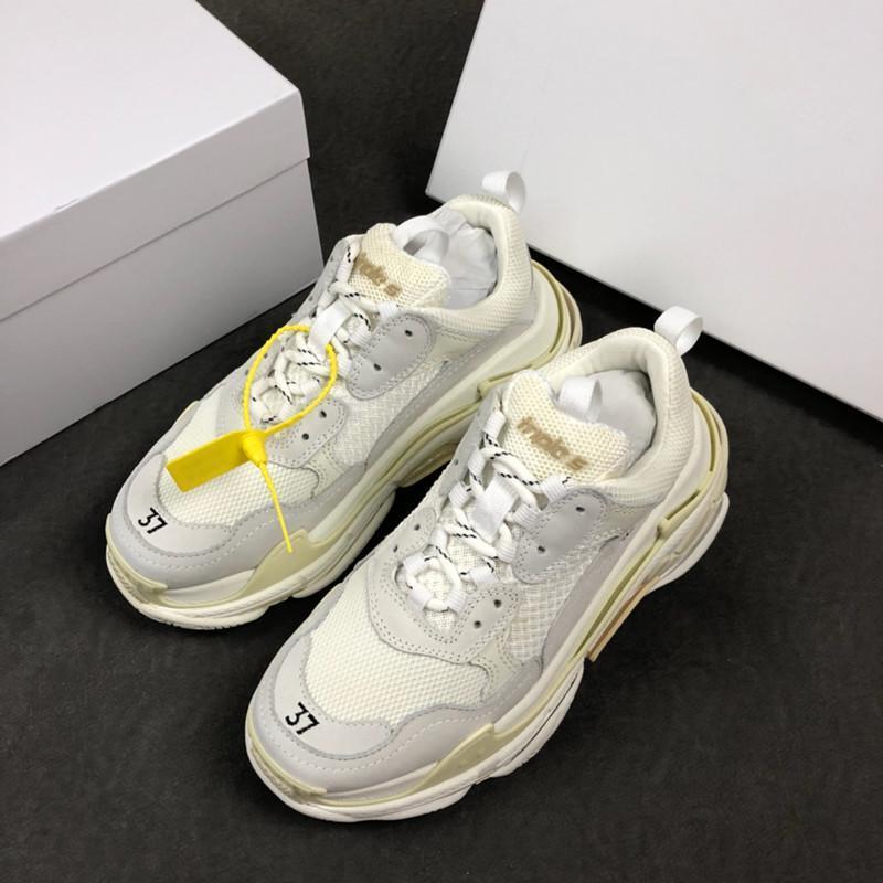 separation shoes 406e1 8a2d0 Acheter Designer Chaussures Athlétique Plus Tendance Balenciaga Vapormax  Off White Shoes Nike Boots Nouvelle Couleur Triple S Sneakers Hommes    Femmes ...