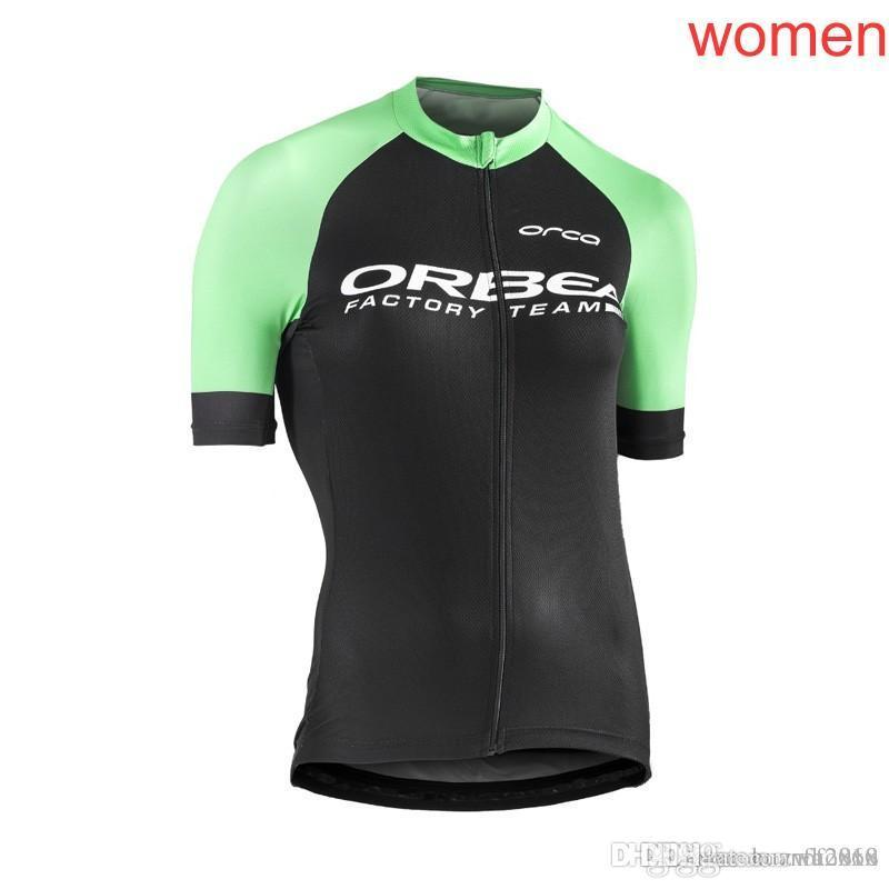 NW ORBEA Team Cycling Short Sleeves Sleeveless Jerseys Vest Women ... 26d75b358