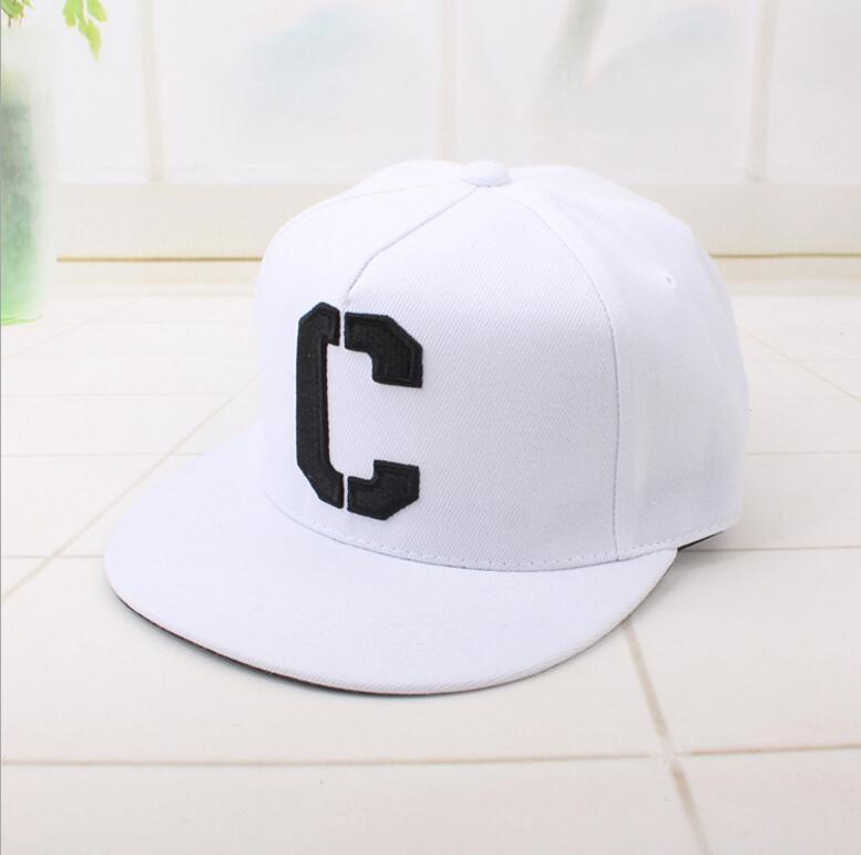 63897f4636a Korean Letter C Embroidery Cap Fashion Hip Hop Hat Black White Hat  Personality Trend Baseball Cap Adjustable Snapback Ball Caps Custom Caps  Cool Caps From ...