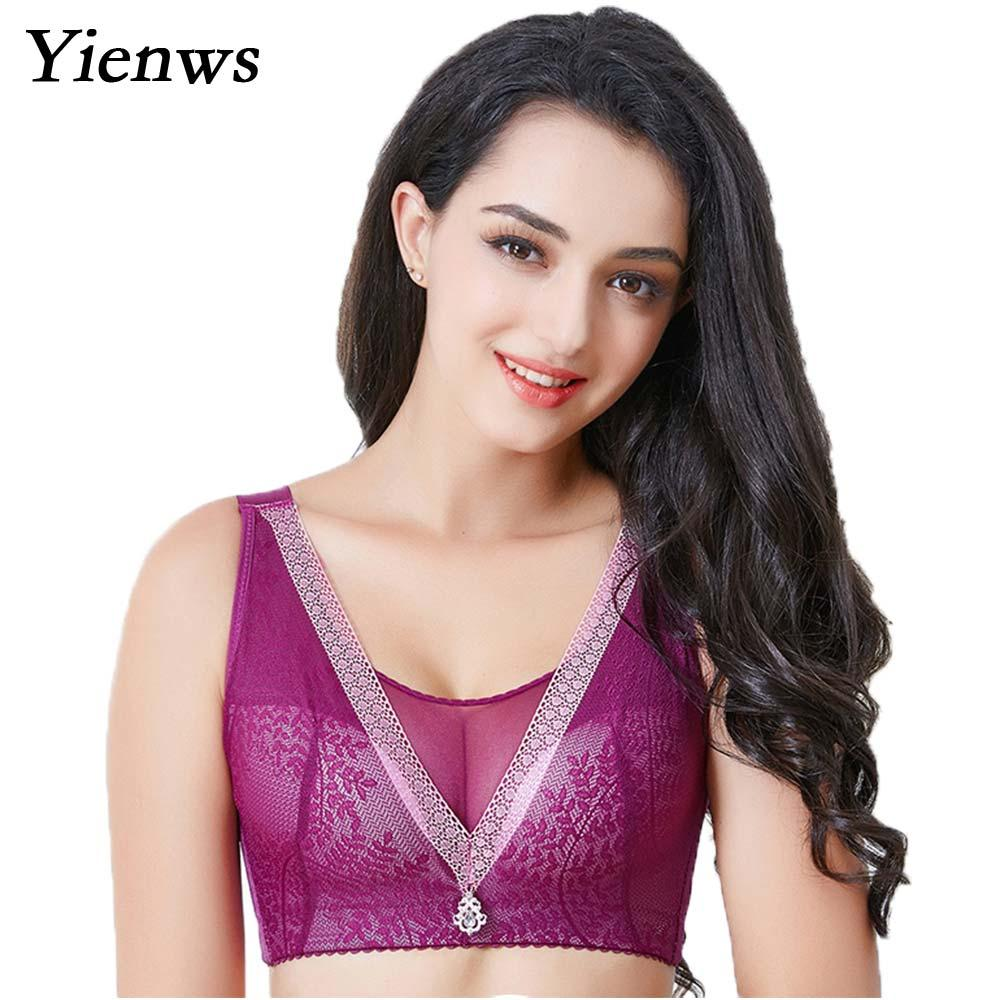 0d8c2e9b35 2019 Wholesale Women Lingerie Deep V Sexy Bra Large Size Cup Push Up Bras  Full Cup Plus Size Bra Big Cup For Female YID012 From Shuangyin002
