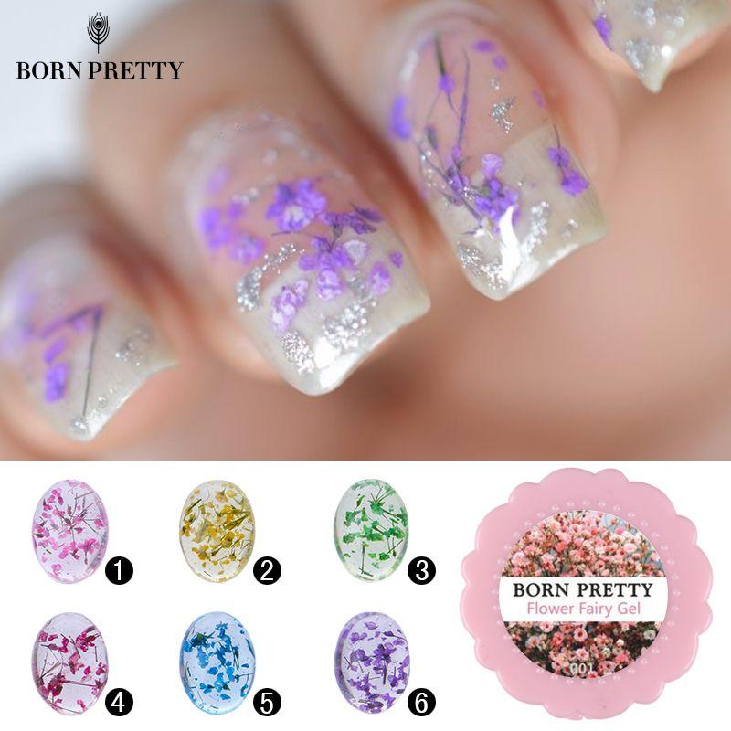 Born Pretty 5g Flower Fairy Gel Floral Soak Off Uv Gel Manicure Nail