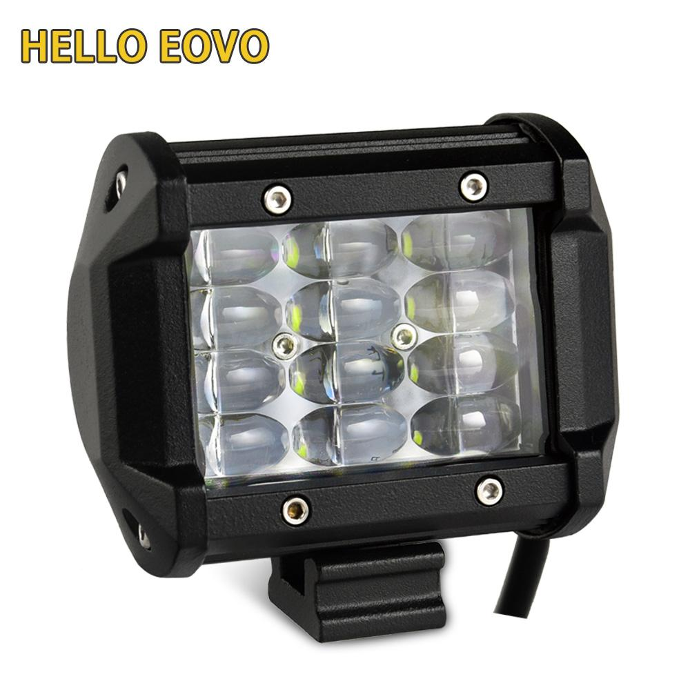 Hello eovo 4 rows led light beams 4 inch led light bar for work hello eovo 4 rows led light beams 4 inch led light bar for work indicators driving offroad boat car tractor truck 4x4 suv atv 12v 24v working led lights aloadofball