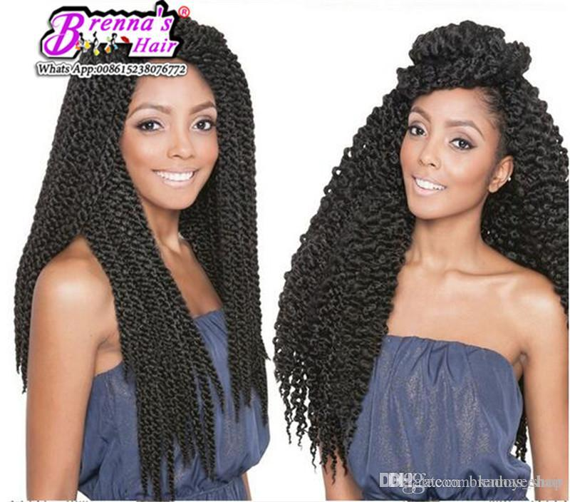 2019 Beautiful Hair Styles Ombre Crochet Twist Hair Extensions