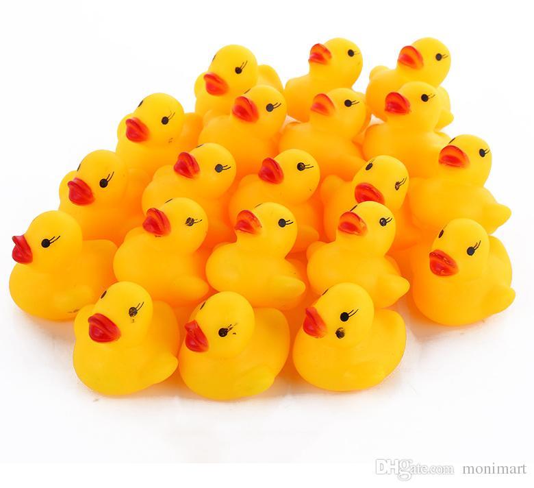 2018 baby bad wasser spielzeug toys sounds gelb gummiente kinder baden kinder schwimmen strand geschenke getriebe baby kinder bad wasser spielzeug