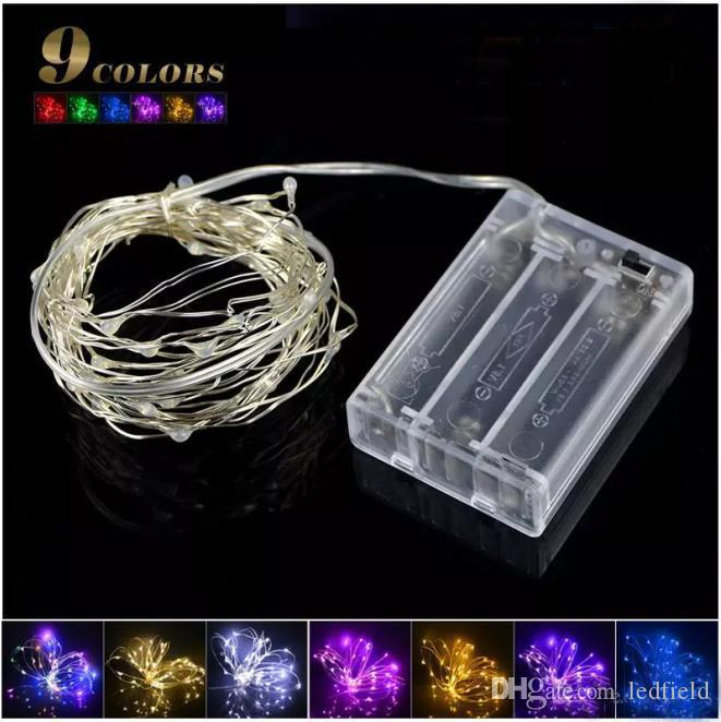 2m 5m led strip light aa battery powered rgb copper wire holiday 2m 5m led strip light aa battery powered rgb copper wire holiday string for fairy christmas trees party home light paper string lights green string lights aloadofball Choice Image