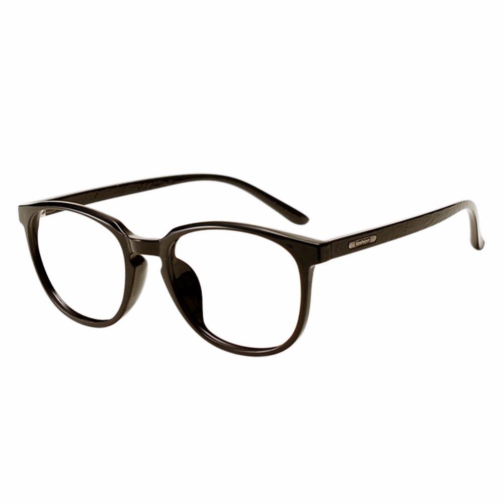19ce7698c2b 2019 TR90 Myopia Glasses Round Frame Bamboo Wood Temple Eyewear Women Men  Eyeglasses These Are Not Reading Glasses Black From Zaonoodle
