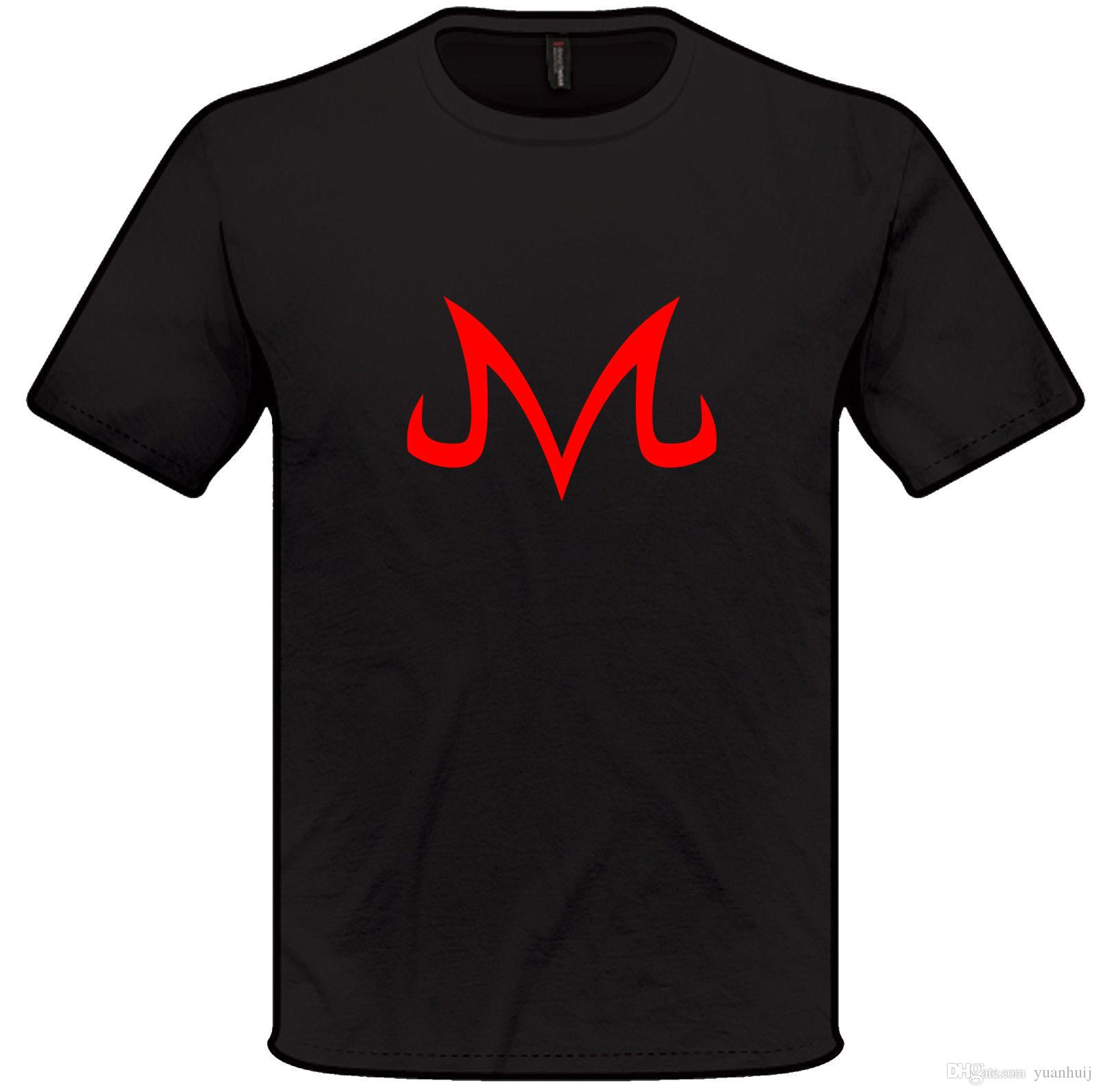 Majin Buu Symbol T Shirt Anime Dragotop Teell Z Mens Womens T Shart
