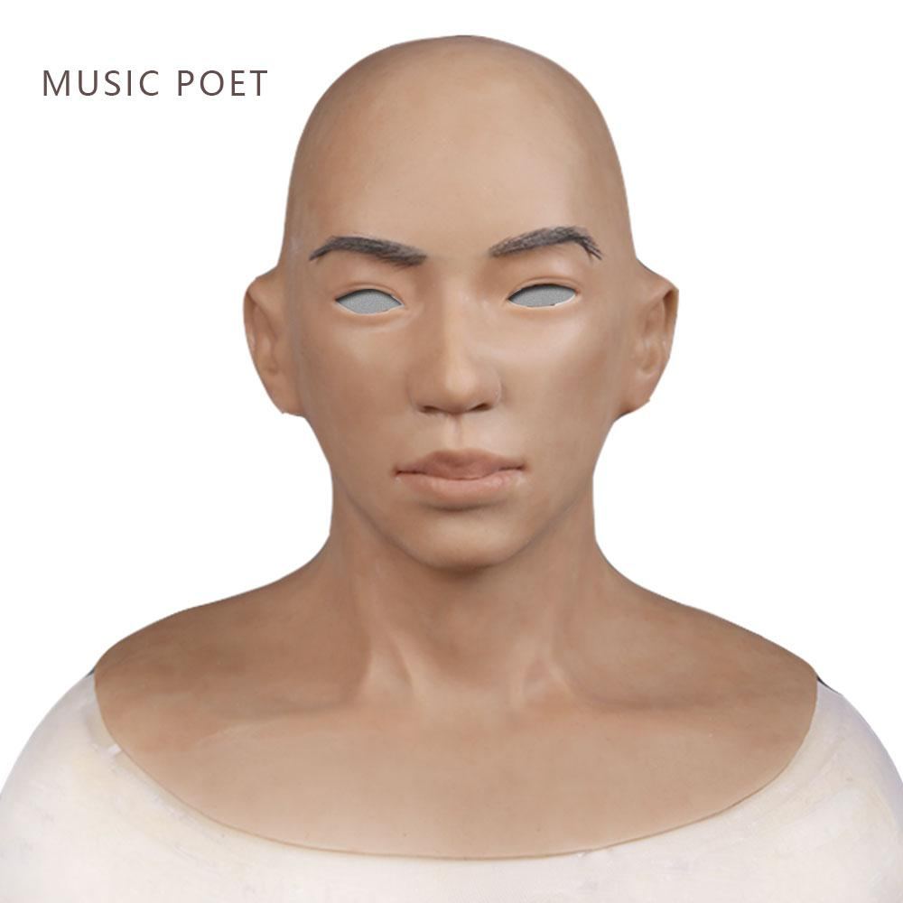 Wholesale Male Latex Realistic Adult Silicone Full Face Mask For Man  Cosplay Party Mask Fetish Real Skin Masquerade Mask For Sale Masquerade Mask  For Women ...