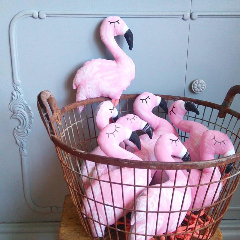 Cute Hot Flamingo Bird Animal Plush Toy Baby Doll Home Decoration Photo Props Birthday Gift