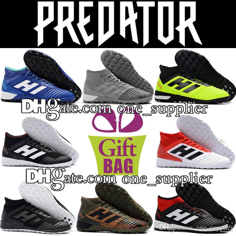 d3d9c3e61 Original High Ankle Socks Football Boots Soccer Shoes Indoor Men Predator  Tango 18.3 IN TF Soccer Cleats Turf Predator Soccer Boots Trainer Football  Boots ...