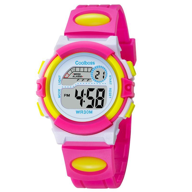 e7583a000a2 Compre Novo Pequeno Esporte Estudantes Crianças Assistir Crianças Relógios  Meninos Meninas Relógio Criança Eletrônica LED Digital Relógio De Pulso  Para O ...