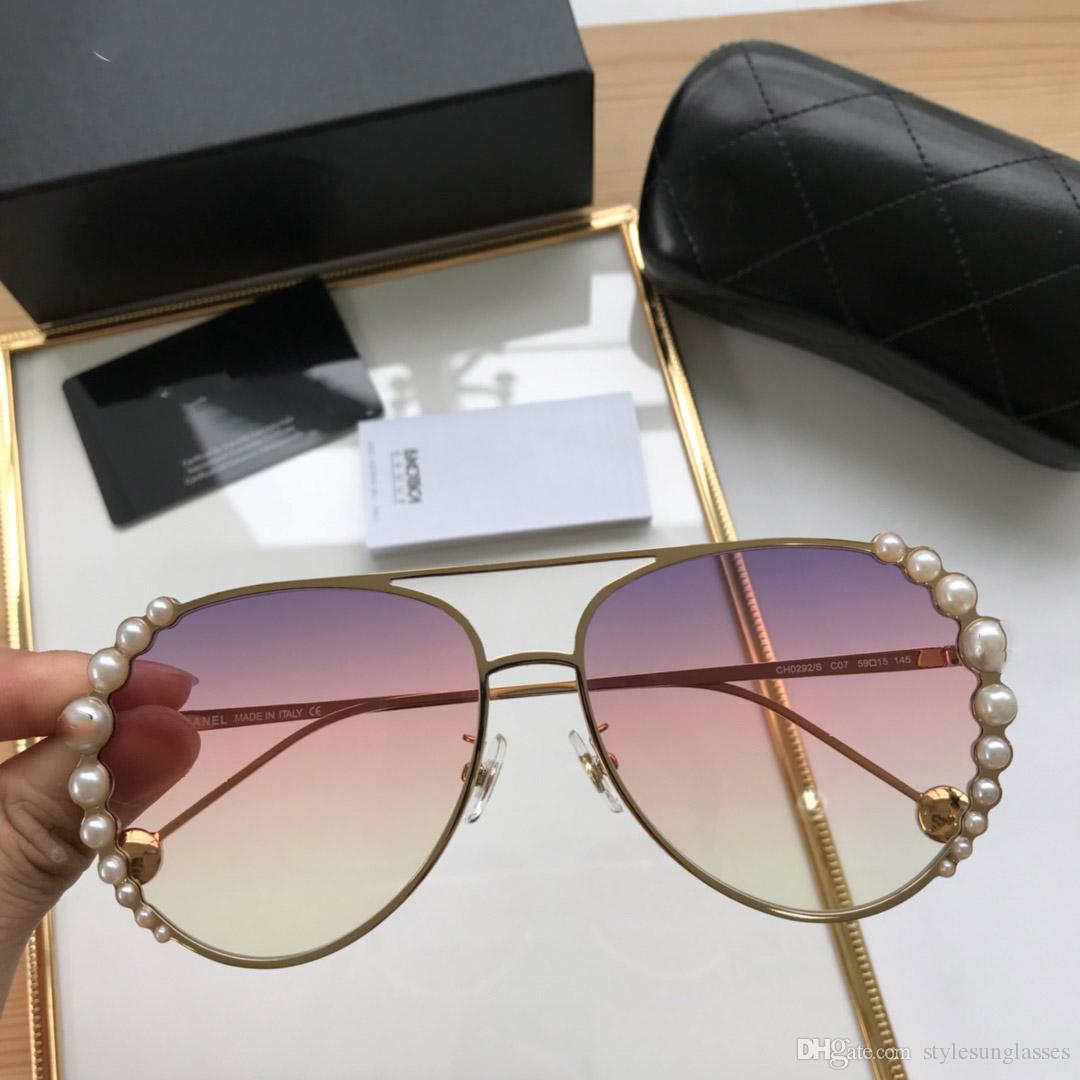 Compre Chanel Polarized Custom A Mais Recente Marca De Luxo Óculos De Sol  Senhoras Designer Espelho Clássico Piloto Óculos Polarizados Óculos De Sol  Uv400 ... 7c30ba3b70