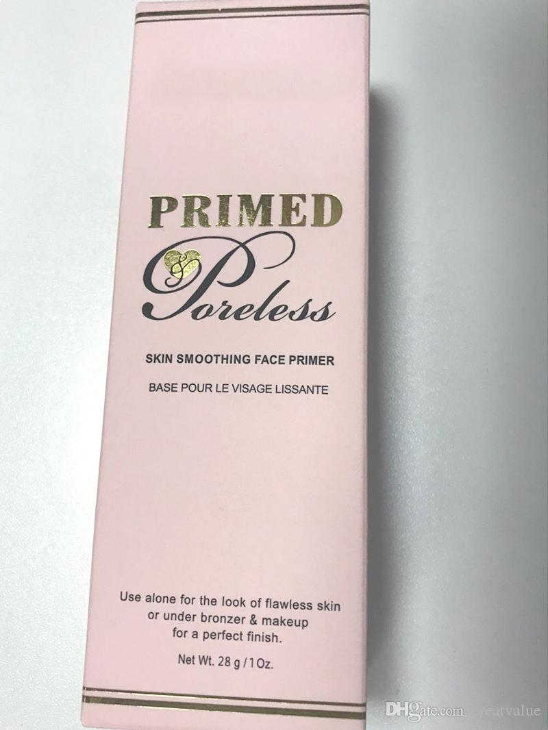faced primed Skin smoothing face Primer New face cosmetic Foundation concealer and Poreless 28g in stock