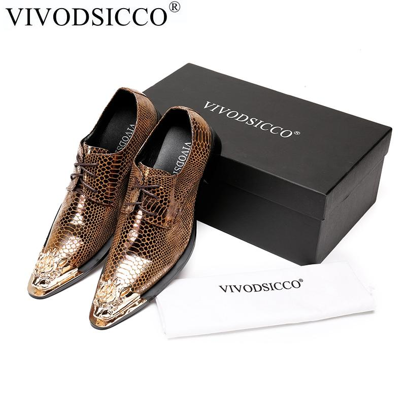 b081c7a81dee VIVODSICCO Fashion Italian Men Dress Shoes Vintage Genuine Leather Men Shoes  Party Wedding Handmade Loafers Slip On Flat White Shoes Wholesale Shoes  From ...