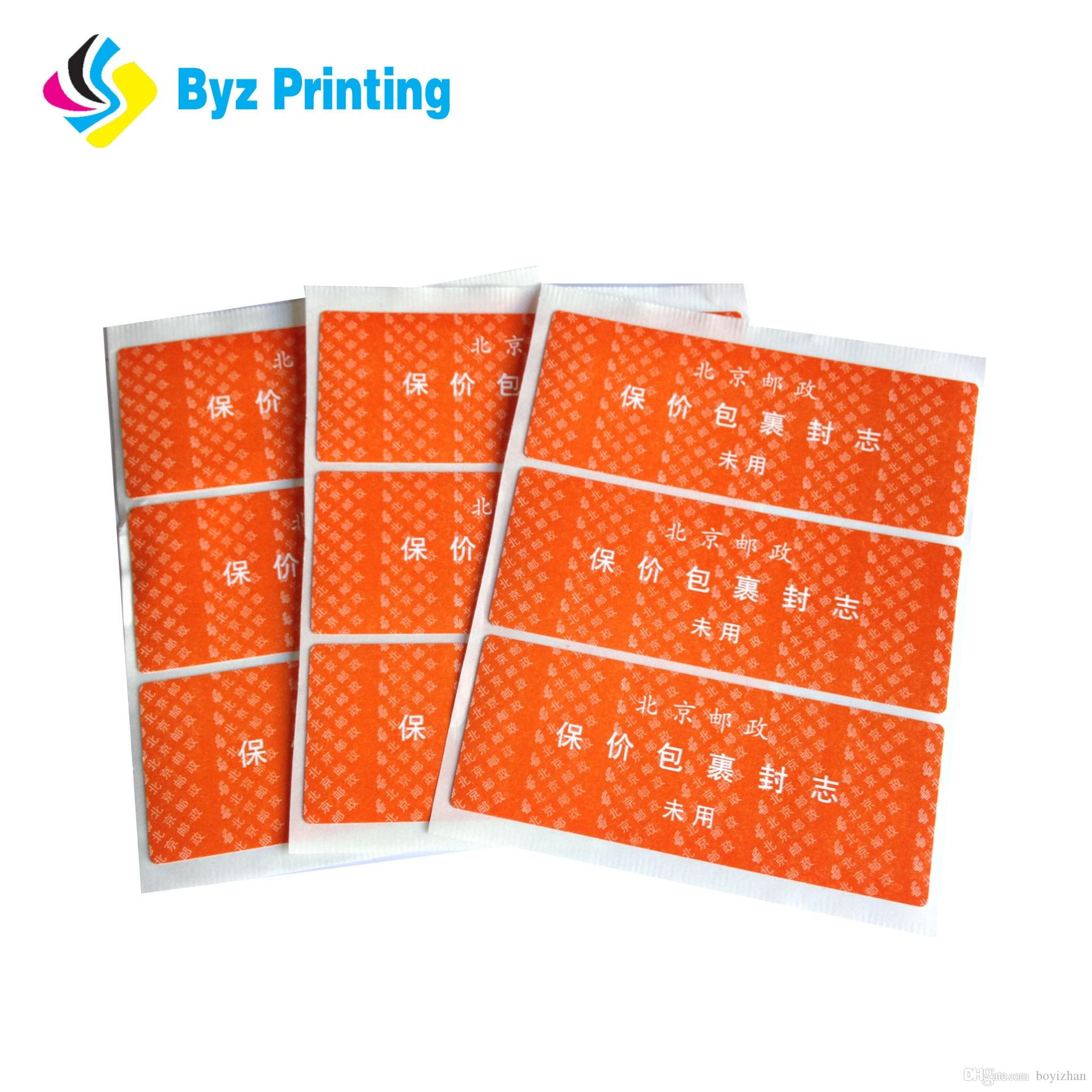 Full color printing oem advertising stickers uv resistant outdoor advertising sticker label