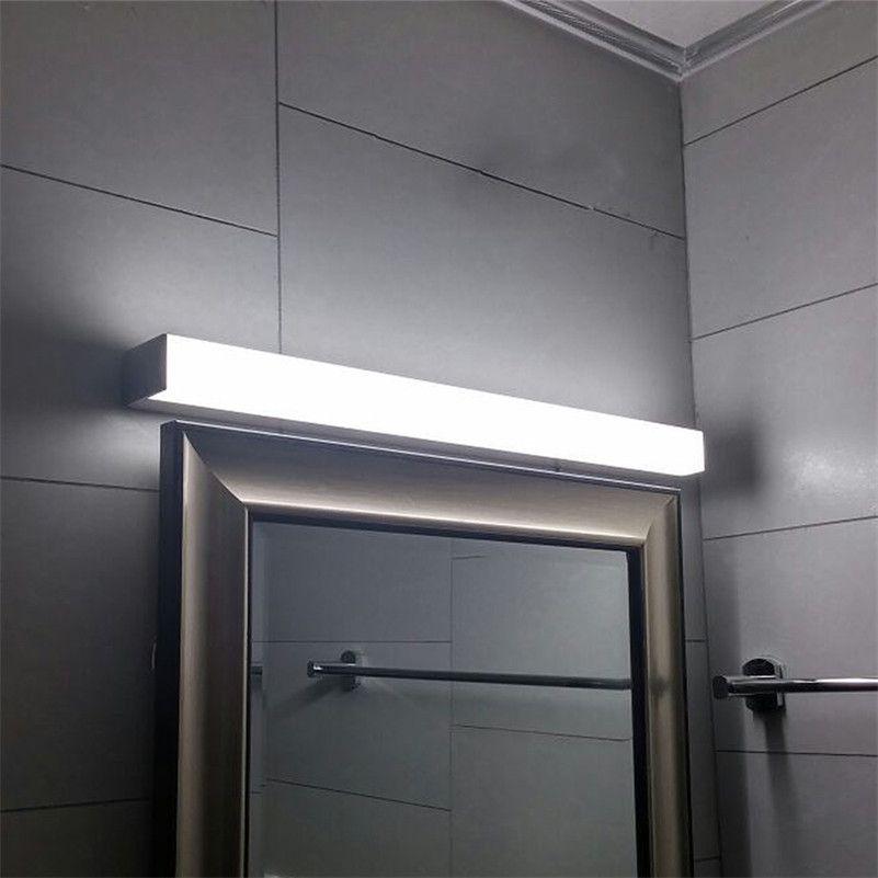 Bad Beleuchtung Wandleuchten Moderne LED Spiegel Licht 12 Watt 16 Watt 22  Watt Wasserdichte Wandleuchte Leuchte AC220V 110 V Acryl Wand Badezimmer ...