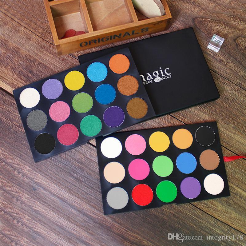 IMAGIC Professional Eyeshadow Palette Shimmer Matte eyeshadow Powder Beauty Product Cosmetics Pallete DHL