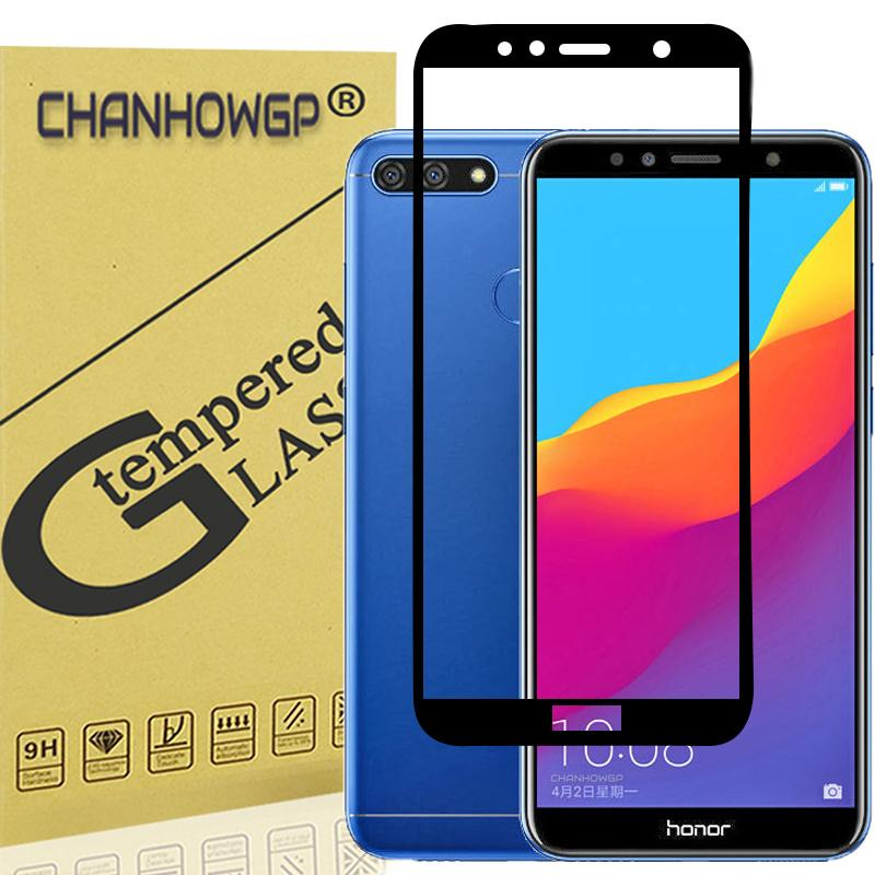 Full Cover Tempered Glass For Huawei Honor 7A Pro Prime AUM L29 Screen  Protector Toughened Protective For Huawei Y6 2018 ATU LX3