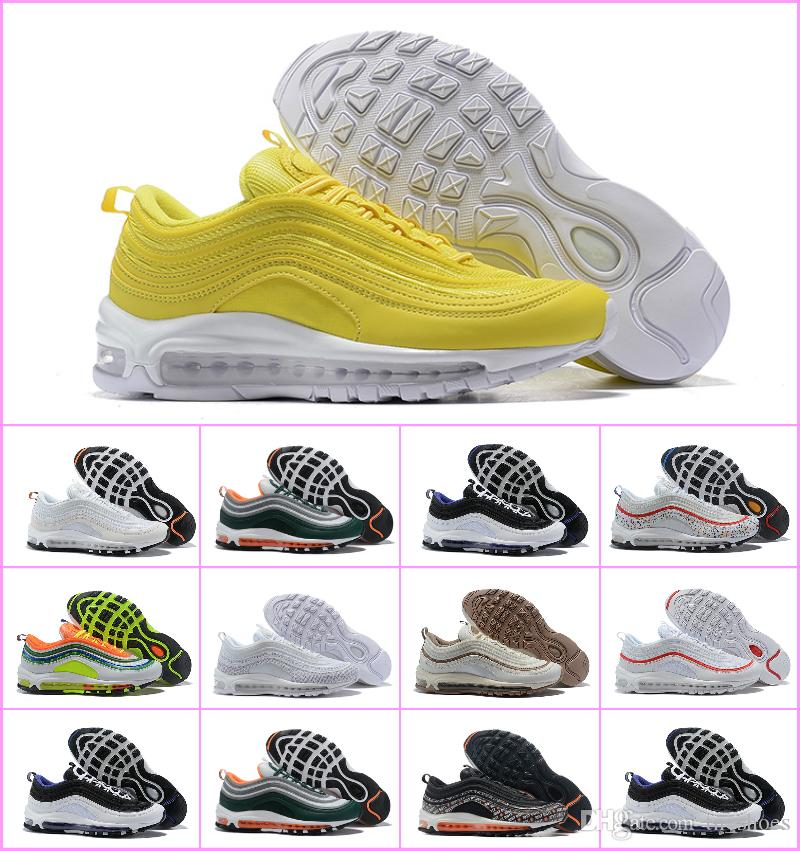 2018 New Off Air Undefeated 97 OG White 97s Man Running Sneakers 270 Shoes  White X Sports Designer Trainer Sneaker TNs Chaussures Maxes Black Running  Shoes ... ff821e26b