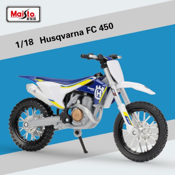 Großhandel Neue 118 Skala Mini Ktm Husqvarna Fc450 Motorrad Enduro