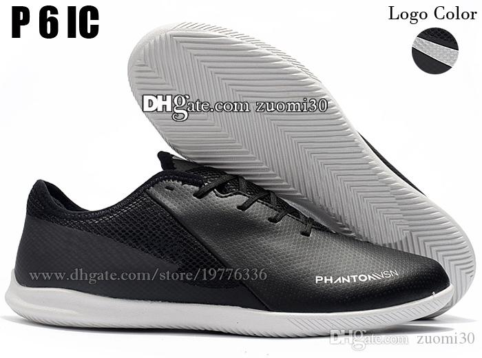 Football Boots TF IC Soccer Shoes Phanton VSN Academy Vision Indoor Low Soccer Cleats Turf Soccer Boots New Trainers Football Cleats 39-46