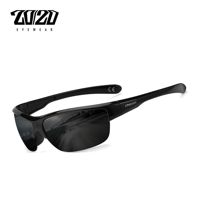 5081cc6566c72 Compre 20 20 Marca De Design Clássico Preto Polarizada Óculos De Sol Dos  Homens Lente Quadrado Do Vintage Óculos De Sol Masculino Condução Eyewear  Gafas ...