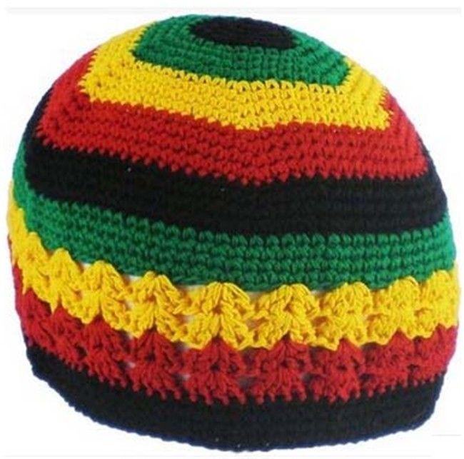 Jamaican Rasta Hat Bob Marley Hat Jameican Hat Tams Fancy Dress Costumes Crochet  Rasta Beanies Gorro Bob Marley Cap RH 18 Straw Hat Baseball Cap From ... ffcc803e1f8